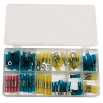 ATD Tools 383 - 75 pc. Heat Shrinkable Terminal Assortment