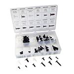 ATD Tools 39350 - 90-Piece GM Retainer Assortment