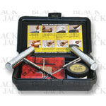 BlackJack KT-20SC - Small Tire Repair Kit With Chrome Tools