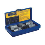 Irwin-Hanson 54125 - 5 Piece. Extractor Set, 19-24mm 3/4