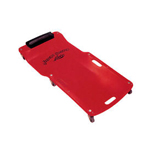 Lisle 92102 - Red Low Profile Plastic Creeper
