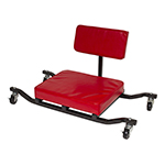 Lisle 93502 - Red Low-Rider Creeper Seat