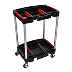 Luxor MC-2 - Mechanics 2-Shelf Utility & Tool Cart