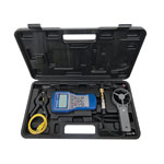 Mastercool 52270 - A/C System Analyzer with Round Vane, Clamp-On Thermocouple & Pressure Tranducer
