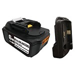 Mastercool 90058-BAT-KT - 18V Rechargeable Battery & Adapter Sleeve for Mastercool Cordless Vacuum Pumps