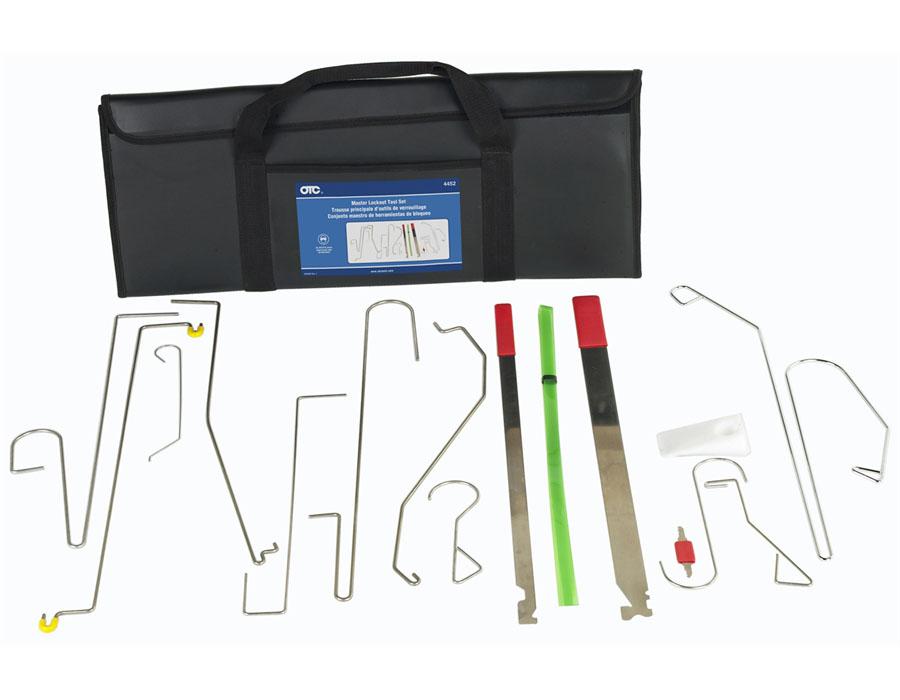 18 Piece OTC 4715 Deluxe European Radio Removal Tool Kit