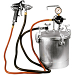 Astro Pneumatic PT2-4GH - 2-1/4 Gallon Pressure Tank with Spray Gun and 12 ft. Hose