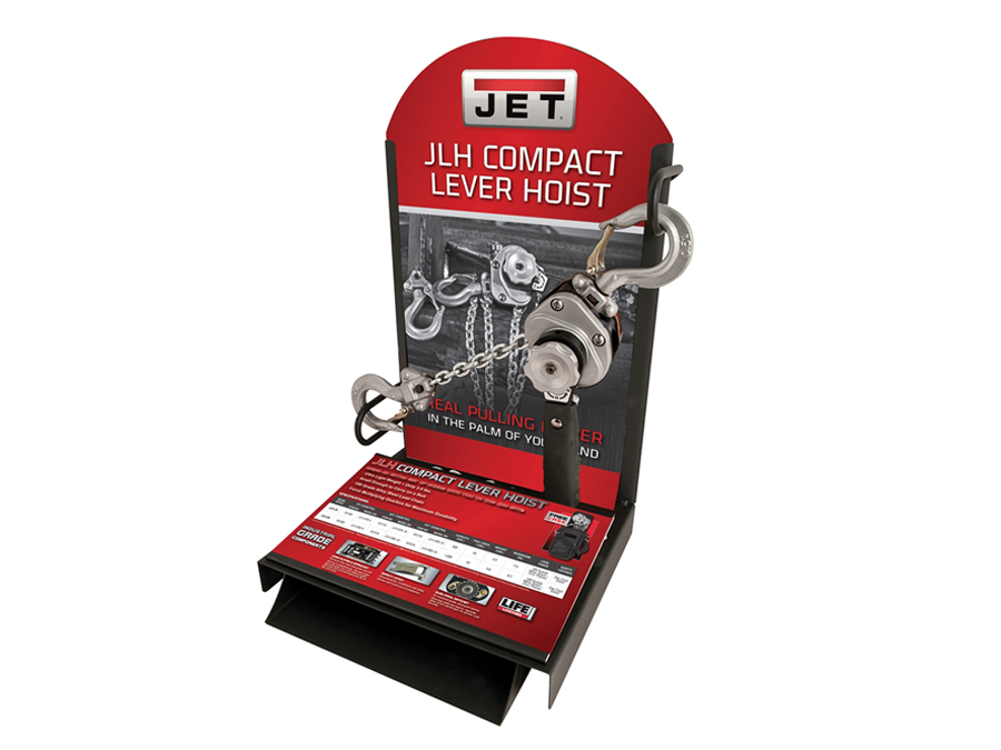 Great Price On Wilton JLSCTR - JET Compact Lever Hoist Display at  ToolPan com