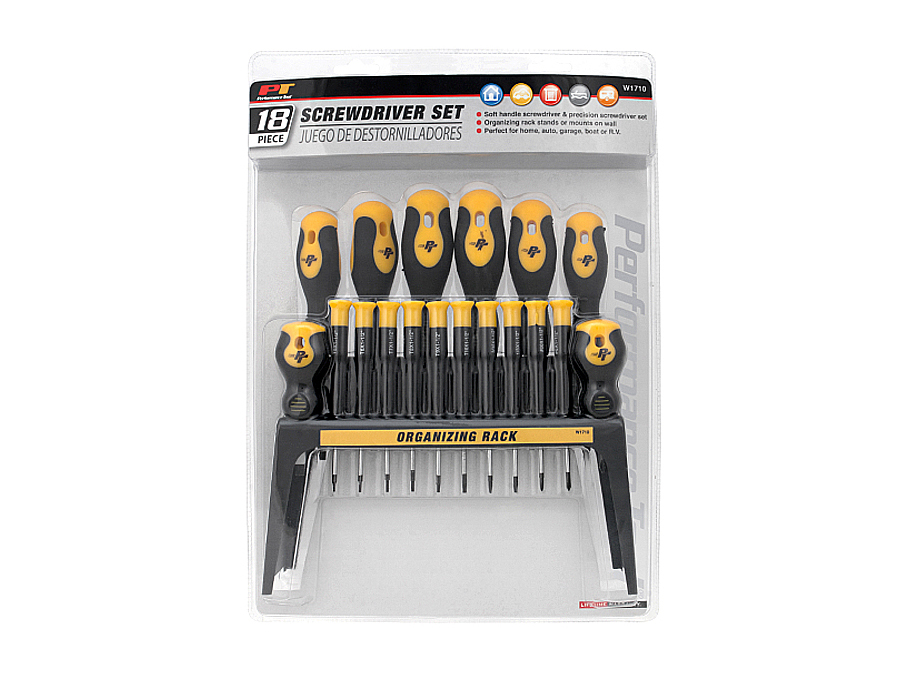 ATD Tools 6256 18-Piece Screwdriver Set