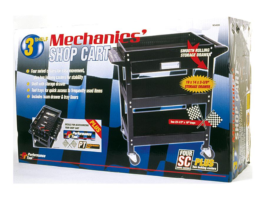 3 Shelf Utility Cart w//Drawer WLMW54006 Brand New!