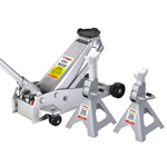 OTC Tools 1500A - 3 Ton Jack Pack - Jack plus Jack Stands