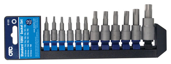 OTC 6100 12 Piece Standard TORX Socket Set