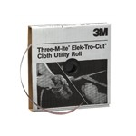 3M Automotive 5004 - 3M Utility Cloth Roll 211K, 1-inch x 50-yard, 240 Grit