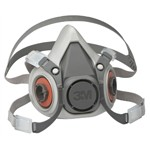 3M Automotive 7026 - 3M Half Facepiece Reusable Respirator 6300/07026, Large