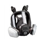 3M Automotive 7163- Full Facepiece Respirator Packout 07163, Organic Vapor/P95, Large