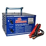 Associated 6010B - 6/12/24 Volt Heavy Duty Commercial Portable Battery Charger