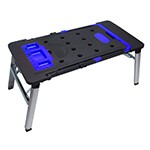 Astro Pneumatic 55670 - 7-IN-1 Workbench (workbench, saw horse, scaffold, platform, car creeper, dolly and hand truck)