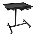 ATD Tools 7026 - Black Heavy-Duty Work Table with Drawer