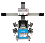 Aston AWA-V8 - 3D Wheel Aligner with Automatic Target Track & Dual Display Screen
