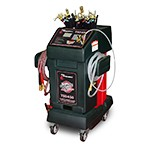 Flo Dynamics TSD450 LCD - Inline & Dipstick Automatic Transmission Fluid Exchanger with 24-Quart Tank