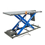 K&L Supply 35-4500 - Blue K&L MC500 Hydraulic Motorcycle Scissor Lift