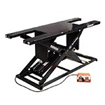 K&L Supply 35-6368 - Black K&L MC625R Heavy-Duty Air Hydraulic ATV & Motorcycle Scissor Lift
