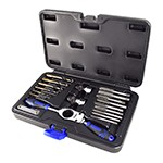 Astro Pneumatic 7581 - Automotive Metric Drill & Tap Set