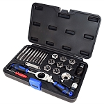 Astro Pneumatic 7582 - Automotive Tap & Die Set - Metric