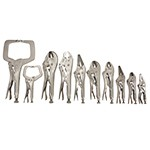 ATD Tools 15000 - 10-PC Locking Pliers Set