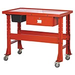 ATD Tools 70325 - Red Heavy-Duty Tear Down Table with Drain