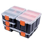 ATD Tools 74 - 4-PC Storage Box Organizer Set