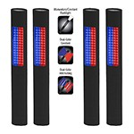 NightStick NSP-1170 - 4-Pack Safety/Flash Light (Blue/Red Floodlight & White Flashlight)