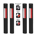 NightStick NSP-1172 - 4-Pack Safety/Flash Light (White/Red Floodlight & White Flashlight)