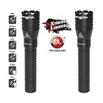 NightStick NSR-9844XLDC - 2-Pack Metal Tactical Dual-Light Flashlight (with DC Power Only)