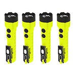 NightStick XPP-5422GMX - 4-Pack X-Series Intrinsically Safe Dual-Light Flashlight with Dual Magnets