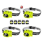 NightStick XPP-5454G - 4-Pack Intrinsically Safe Multi-Function Dual-Light Headlamp