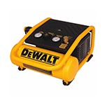 DeWalt D55140 - 1 Gallon Oil-Free Hand Carry Trim Air Compressor - 0.3 HP