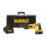 DeWalt DC385K - 18V Cordless Reciprocating Saw Kit