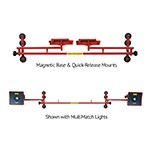 Innovative Tools I-AMHS - Articulated Multimatch Paint Booth Lighting System
