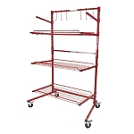 Innovative Tools SSPC-B - 3-Shelf Mobile Storage Rack (Parts Cart B)
