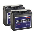 Jump-N-Carry 110 - 2-Pack Proformer Replacement Battery for JNC1224
