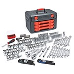 GearWrench 80940 - 219-PC Master Tool Set With Drawer Style Carry Case