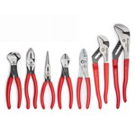 GearWrench 82116 - 7 Piece Mixed Dipped Handle Plier Set