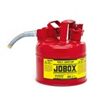 GearWrench 821990 - Jobox Type II Safety Can, 1 Gallon, Red