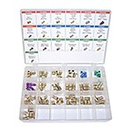K Tool International 00047 - 95-PC Brake Line Fittings Assortment