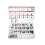 K Tool International 00048 - Master Brake Fittings Assortment