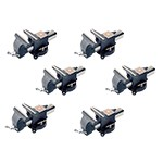 K Tool International 64106-6 - 6-Pack Bench Vise with  6