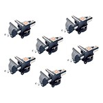 K Tool International 64108-6 - 6-Pack Bench Vise with 8