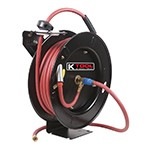 K Tool International 71000 - Black Steel Hose Reel With 3/8