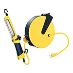 K Tool International 73315 - 13W Fluorescent Angle Light with 30' Retractable Cord Reel